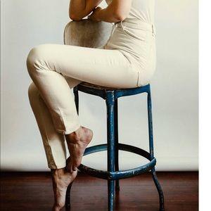 Imogene + Willie Elizabeth jeans white stone